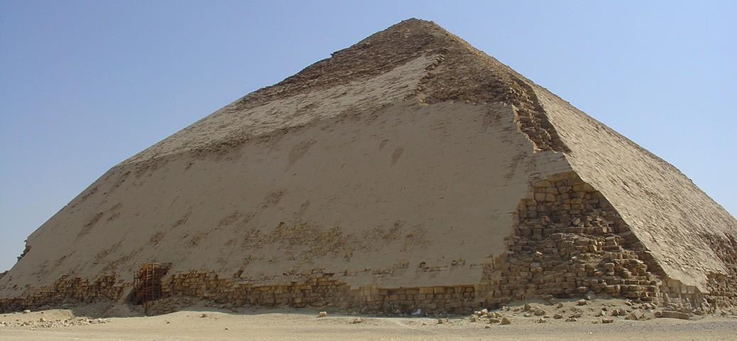 Snefru's Bent Pyramid in Dahshur